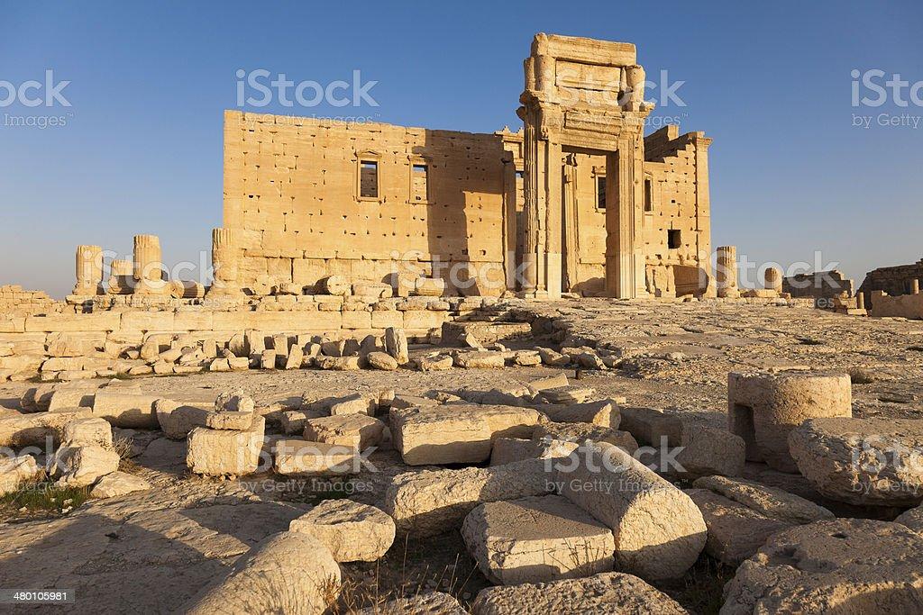 Temple of Bel - Palmyra stock photo
