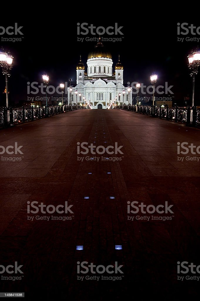 Temple of Christ the Savior royalty-free stock photo