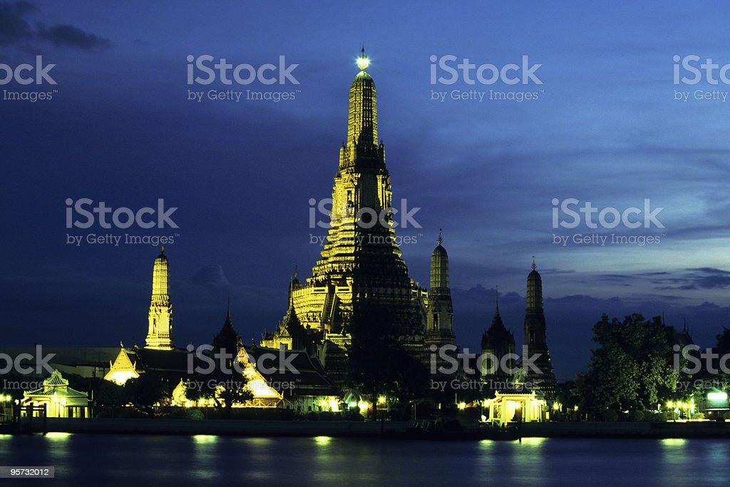 Temple of Dawn, Wat Arun, Bangkok, Thailand royalty-free stock photo