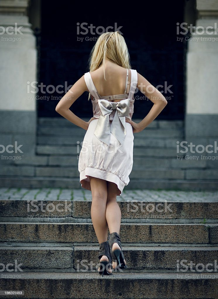 Temple of fashion royalty-free stock photo