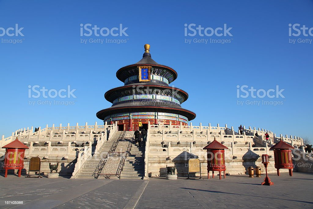 Temple Of Heaven, Beijing stock photo