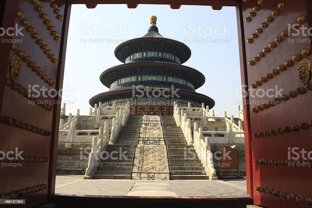 Temple Of Heaven, Beijing royalty-free stock photo
