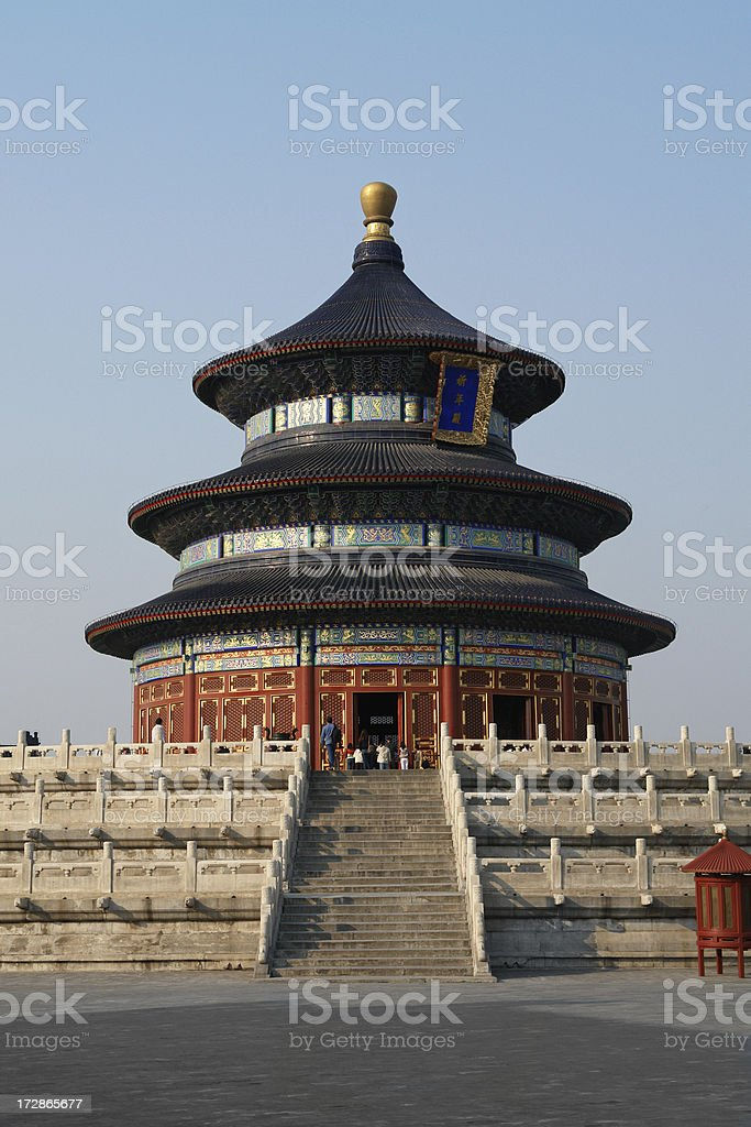 Temple of Heaven in Beijing royalty-free stock photo