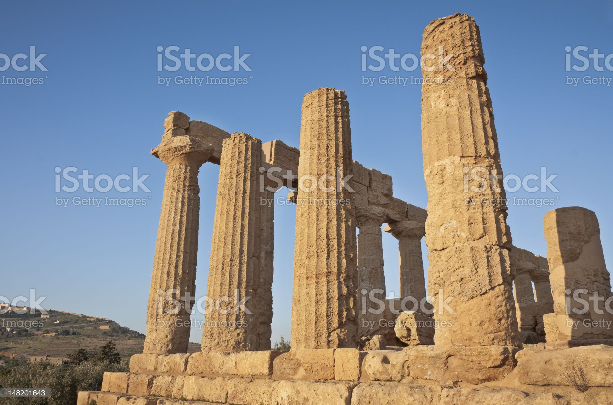 Temple of Hera, Agrigento, Sicily. royalty-free stock photo