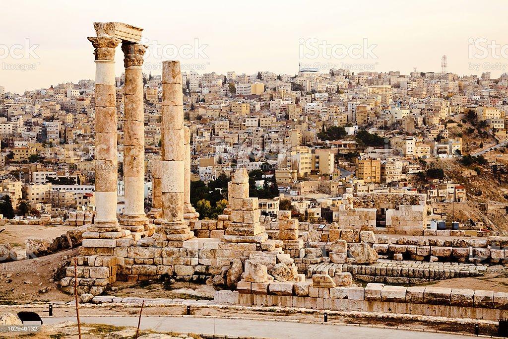 temple of hercules stock photo