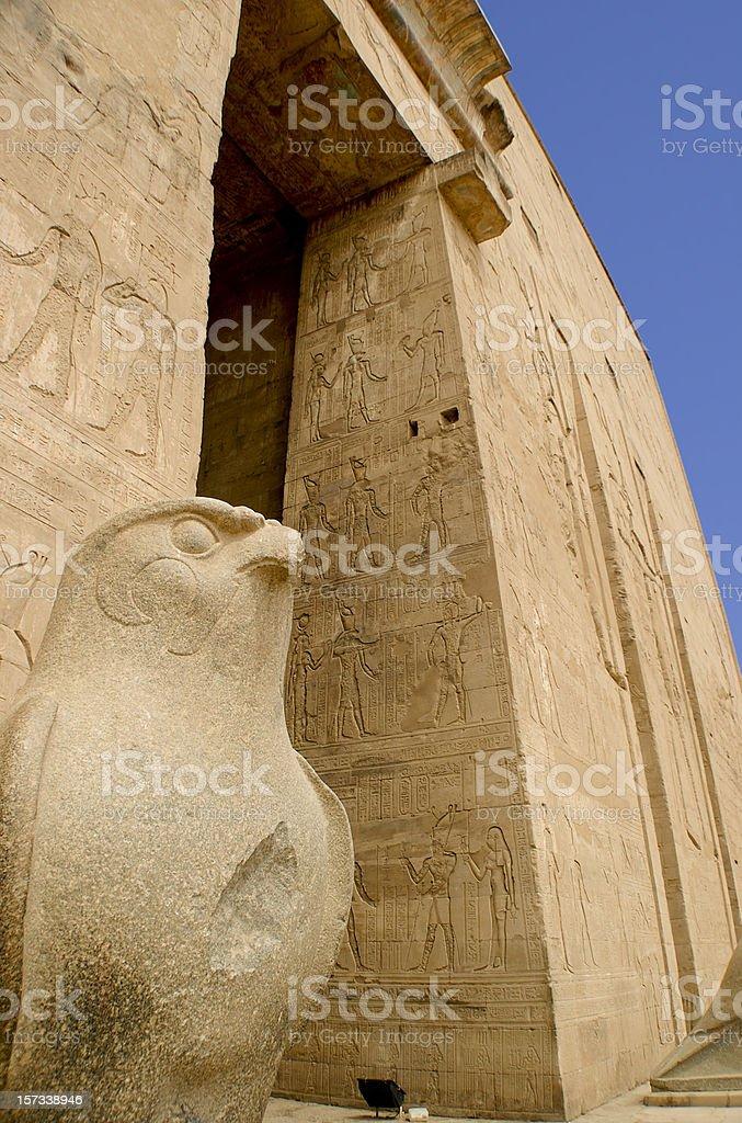 Temple Of Horus At Edfu, Tourism - Egypt Series stock photo