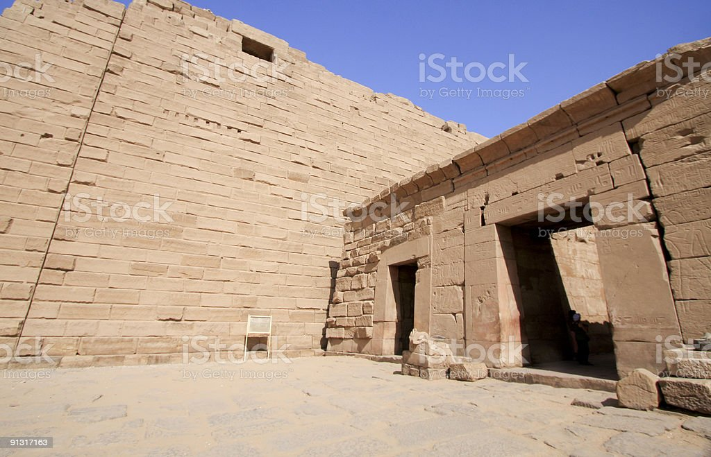 Temple of Karnak in Luxor, Egypt royalty-free stock photo