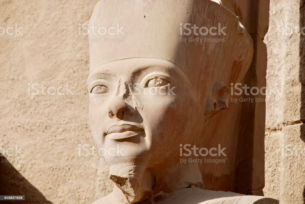 Temple of Karnak, Luxor, Egypt stock photo