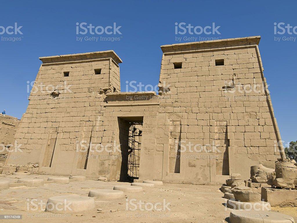Temple of Karnak royalty-free stock photo