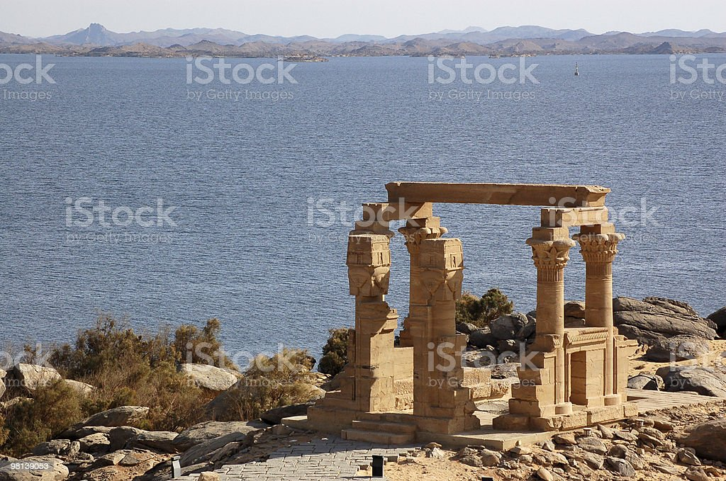 Temple of Kertassi stock photo