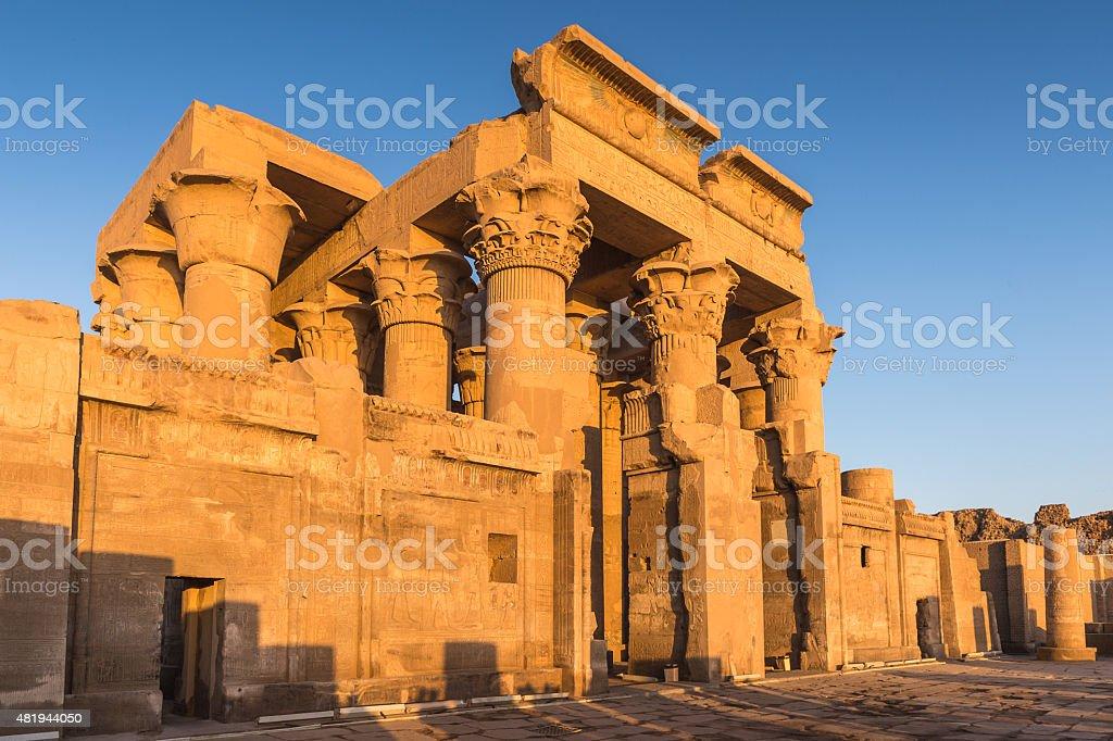 Temple of Kom Ombo stock photo