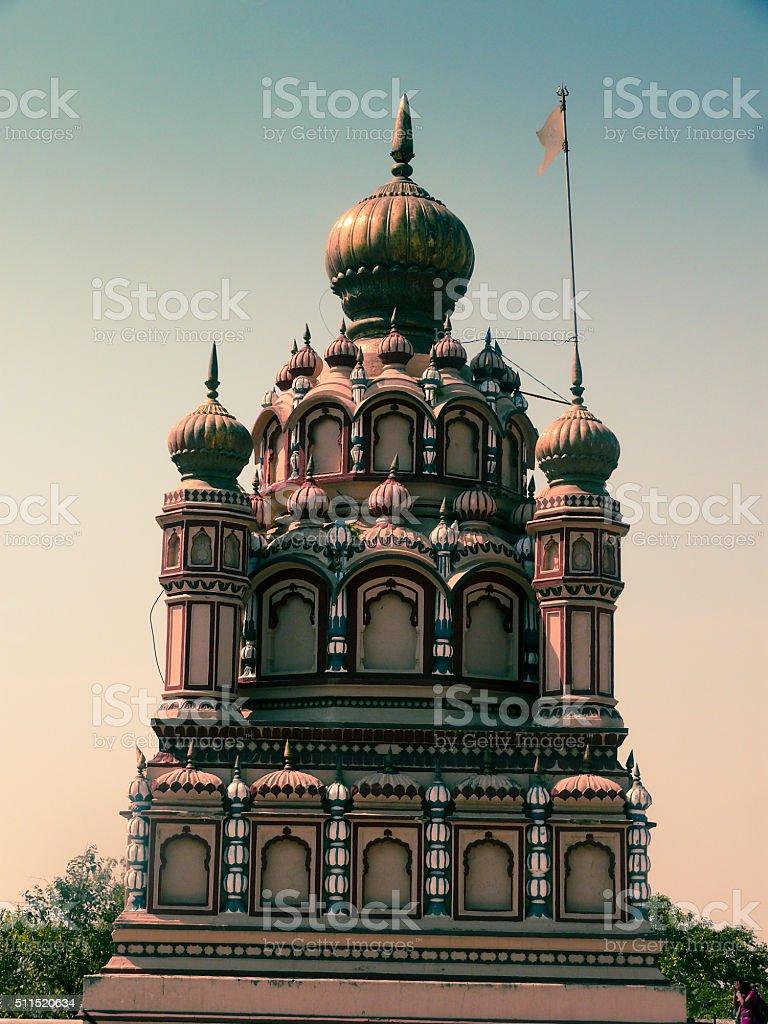 Temple of Lord Mahadeva, Parvati, Pune, Maharashtra, India stock photo