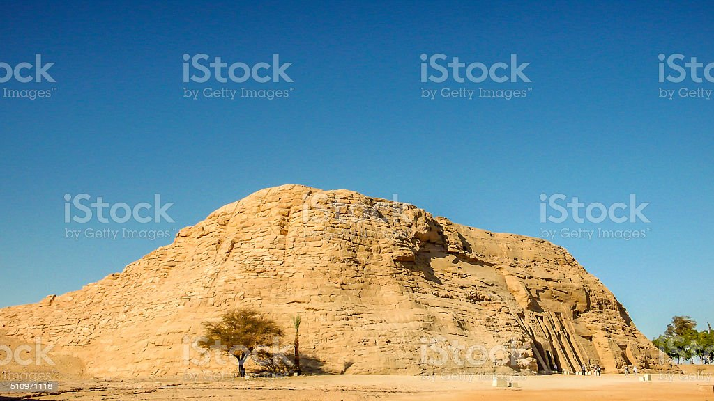 Temple of Nefertari stock photo