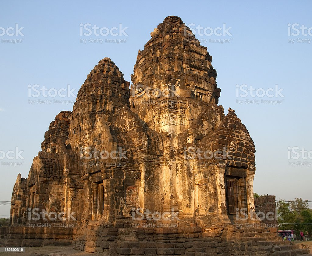 Temple of Prang Sot Yam royalty-free stock photo