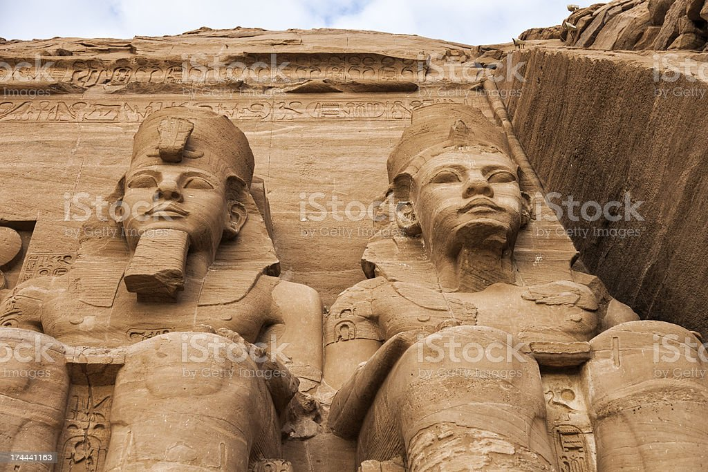 Temple of Rameses II royalty-free stock photo