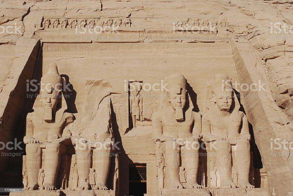 Temple of Ramses stock photo