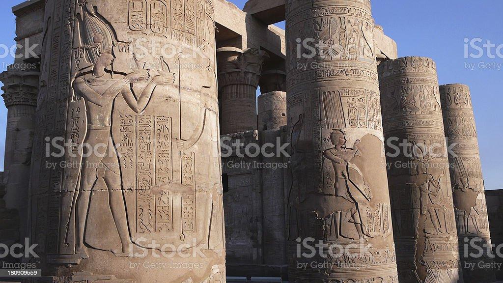 Temple of Sobek. Egypt stock photo