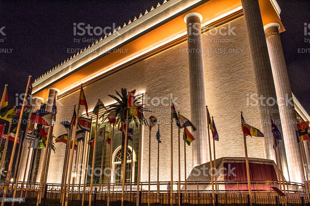 Temple of Solomon stock photo
