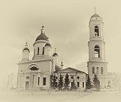 Temple of St. Sergius of Radonezh in Trinity Temple Rogozhskaya