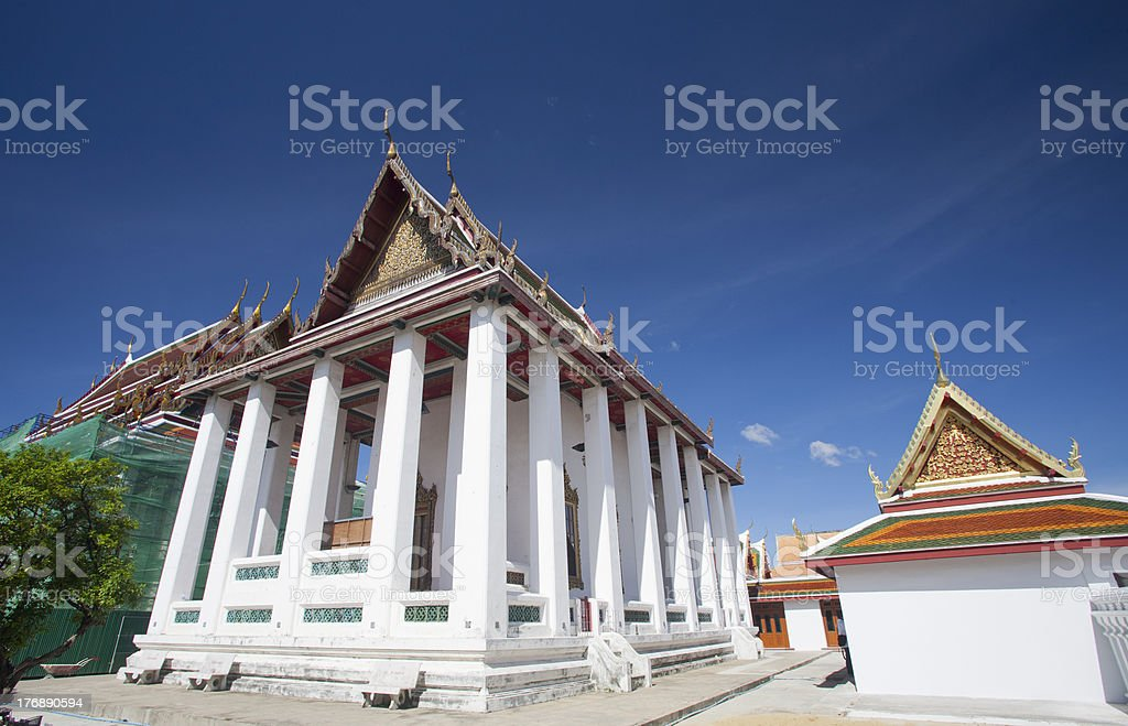 Temple of Thailand. royalty-free stock photo