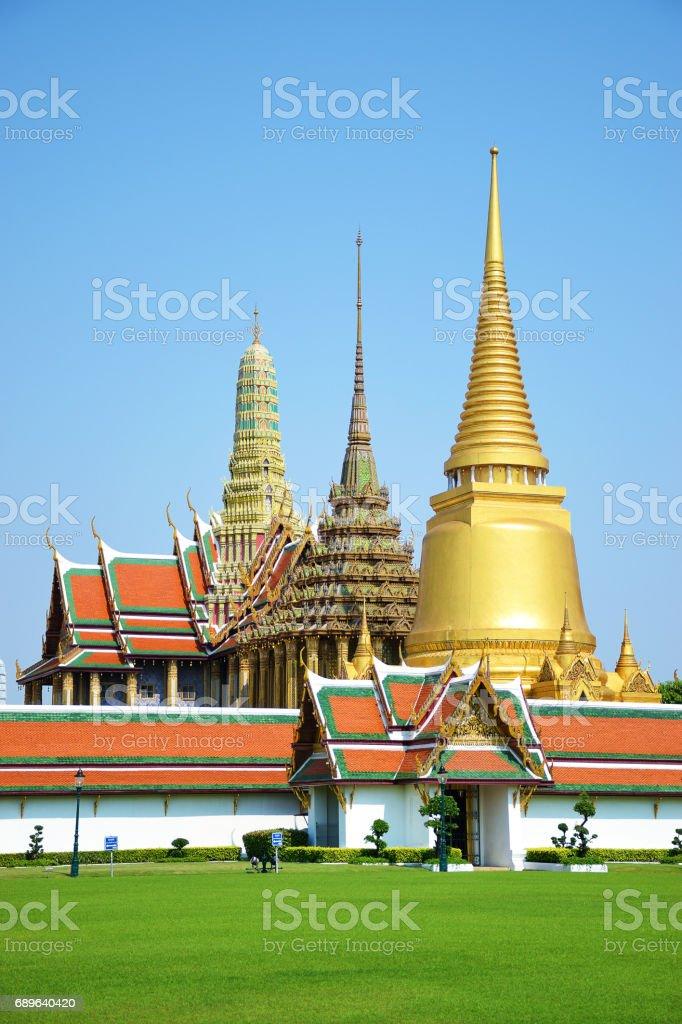 Temple of the Buddha Bangkok Thailand 0253 stock photo