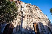 Templo de la Compania de Jesus in Guanajuato, Mexico