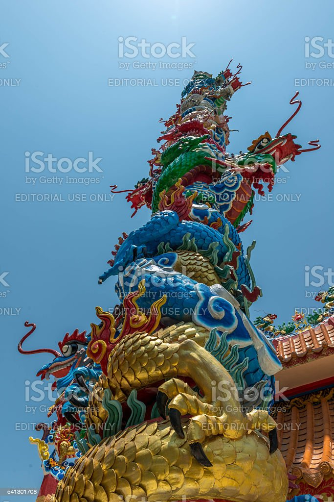 Temple of the Goddess of Mercy stock photo