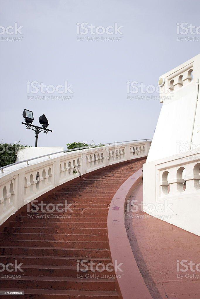 Temple of the Golden Mount, Wat Saket, Bangkok royalty-free stock photo