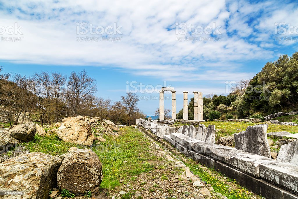 Temple of the Great Gods stock photo