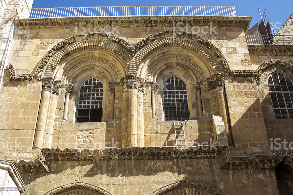 Temple of the Holy Sepulchre royalty-free stock photo