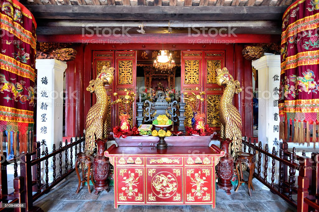 Temple of the Jade Mountain stock photo