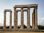 Temple of the Olympian Zeus - Athens, Greece