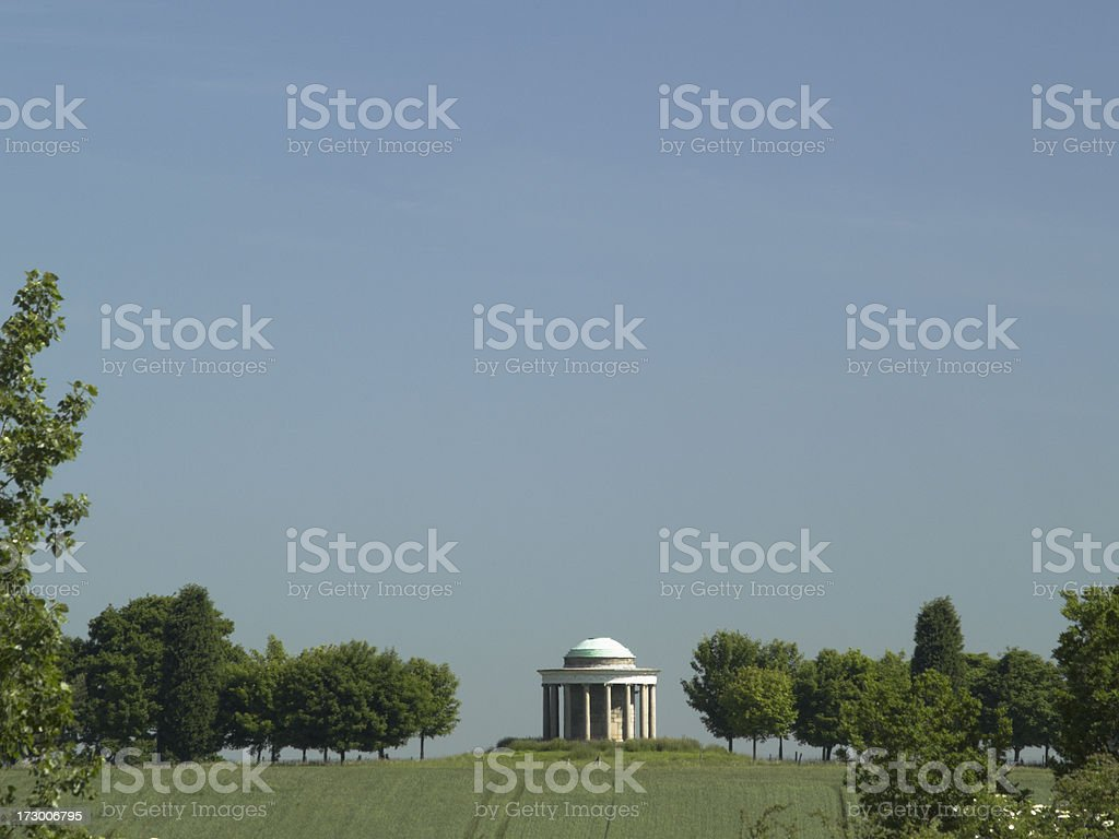 Temple of Venus royalty-free stock photo