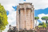 Temple of Vesta in Roman Forum, Rome, Italy