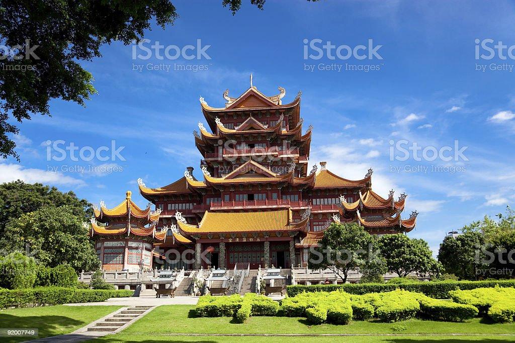 Temple of Xichan in Fuzhou,China royalty-free stock photo