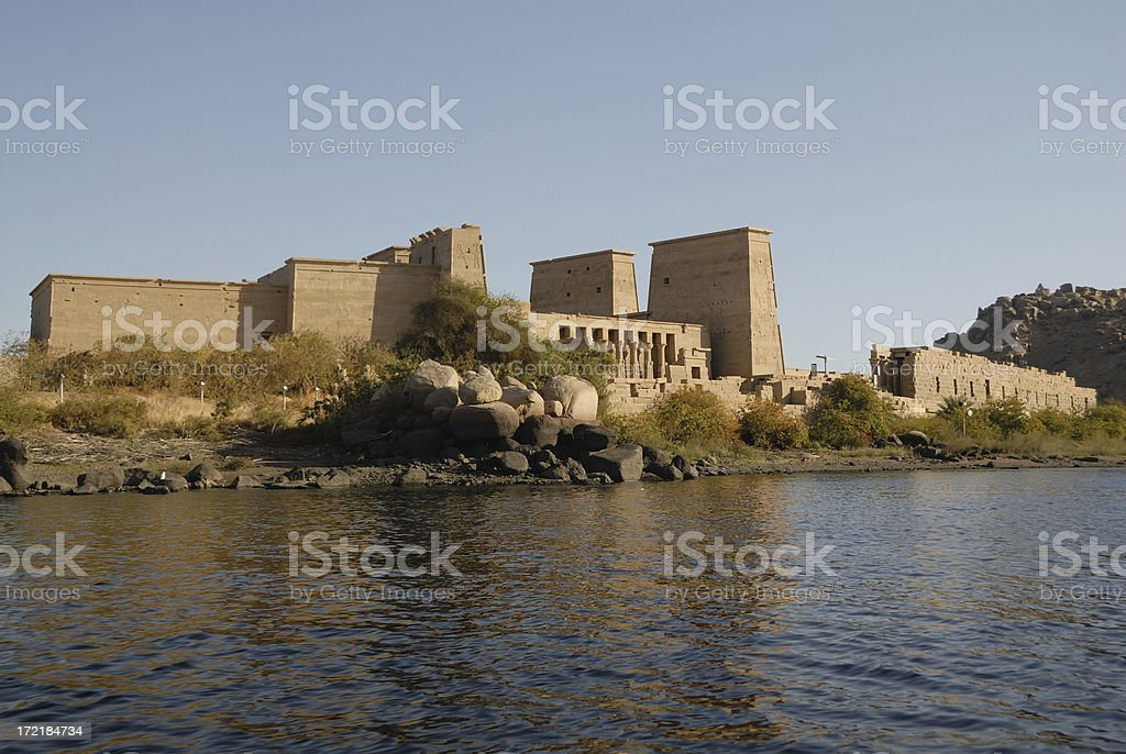 Temple Philae 03 royalty-free stock photo
