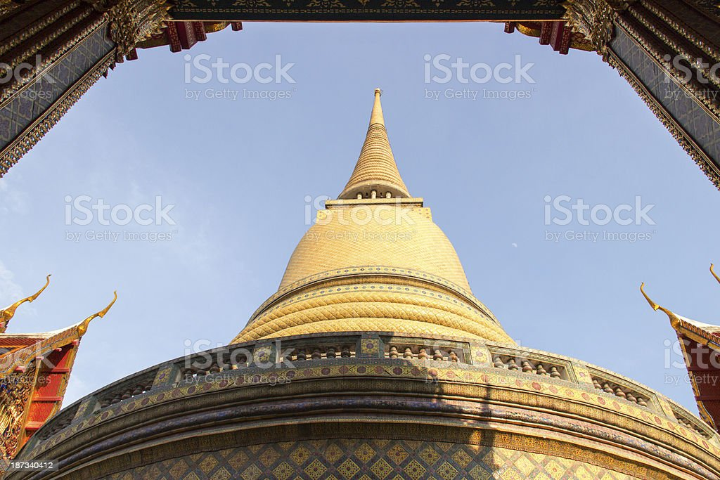Temple royalty-free stock photo
