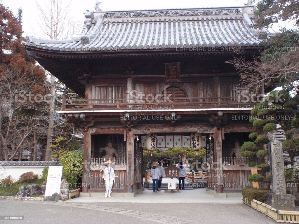 Temple stock photo