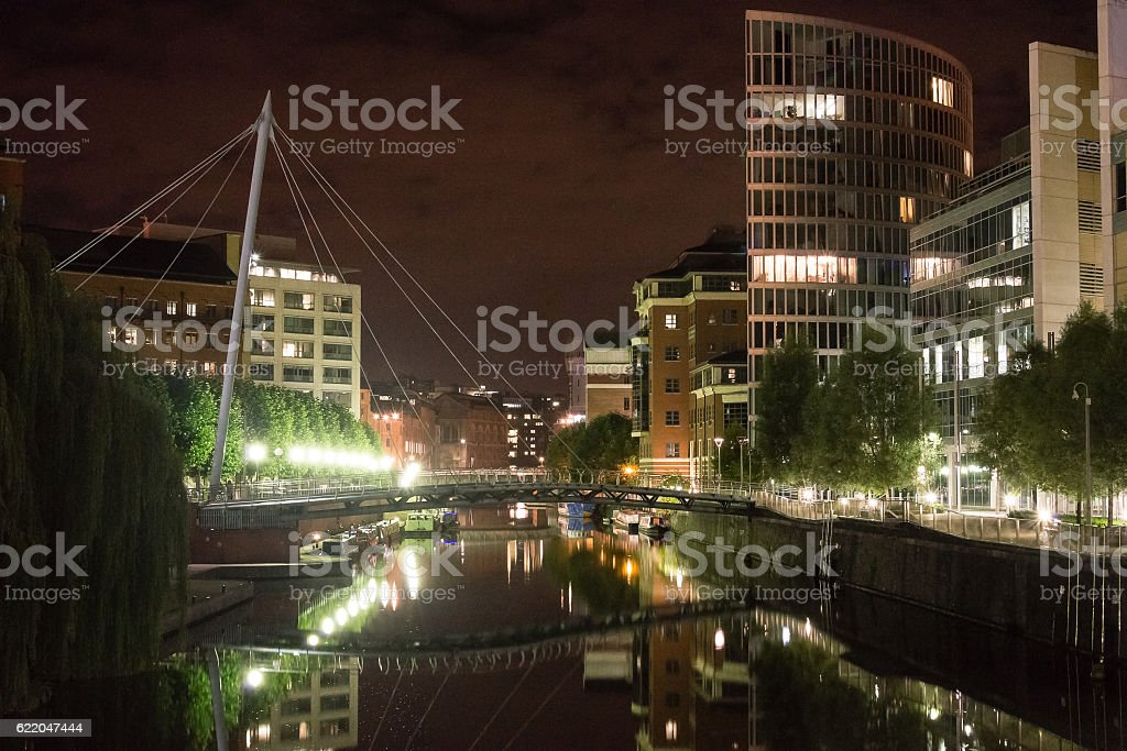 Temple Quay Bristol, England stock photo