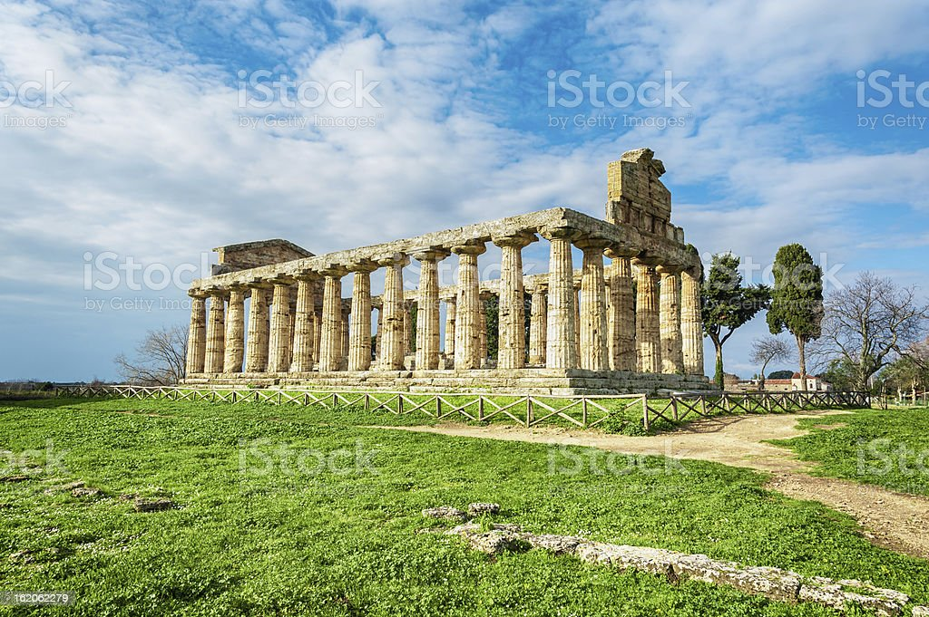 Temple ruin royalty-free stock photo