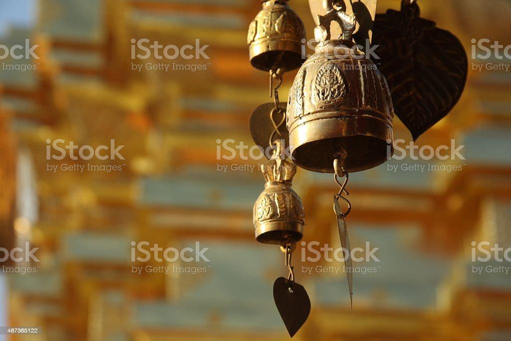 Temple Thaï stock photo