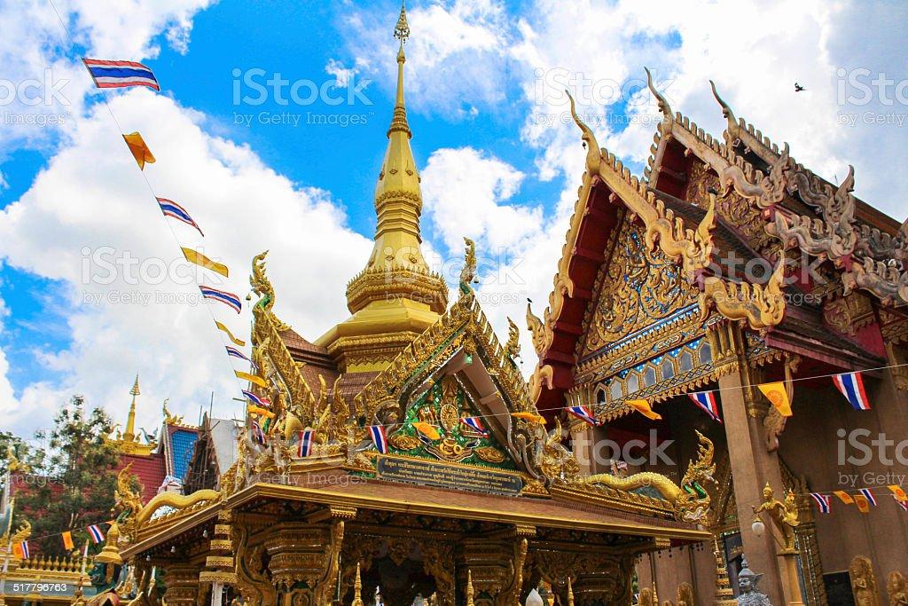 Temple Thai stock photo