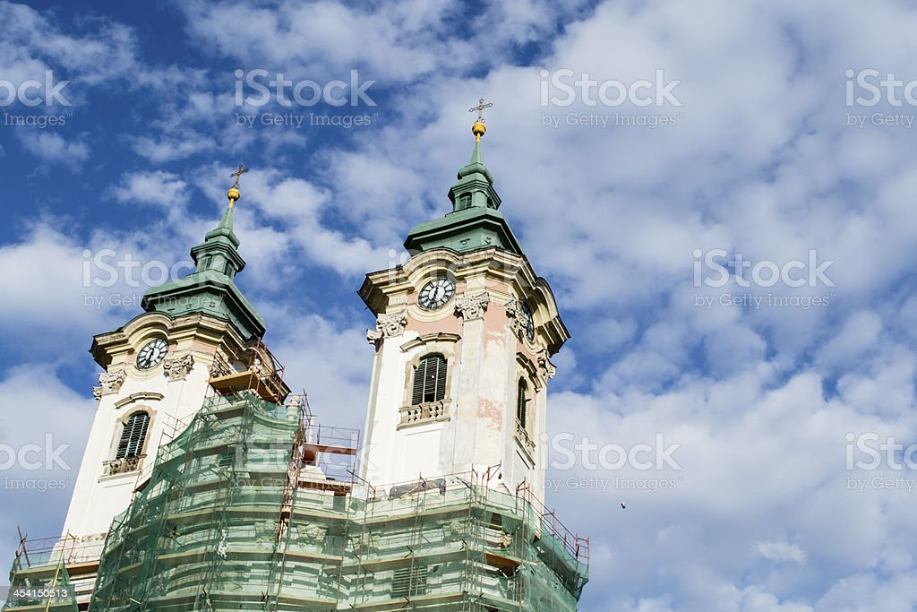 temple tower royalty-free stock photo