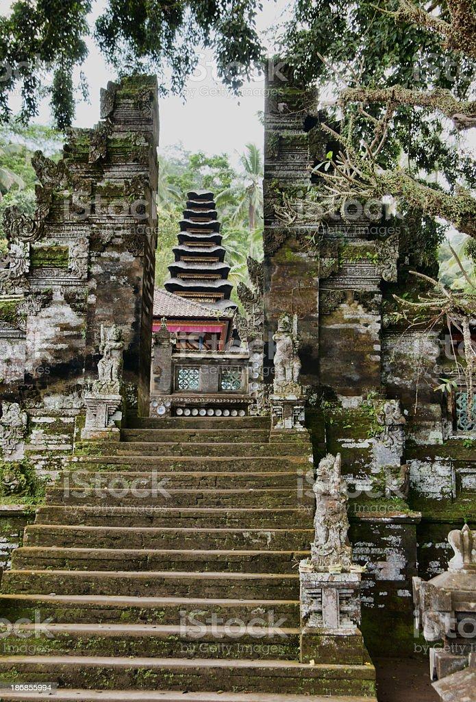 Temple Ubud stock photo