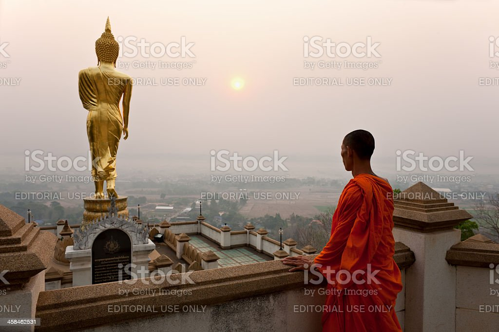 Temple view. stock photo