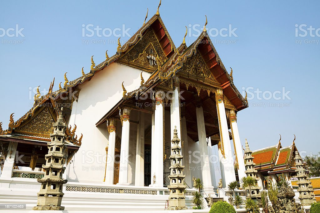 Temple Wat Suthat royalty-free stock photo