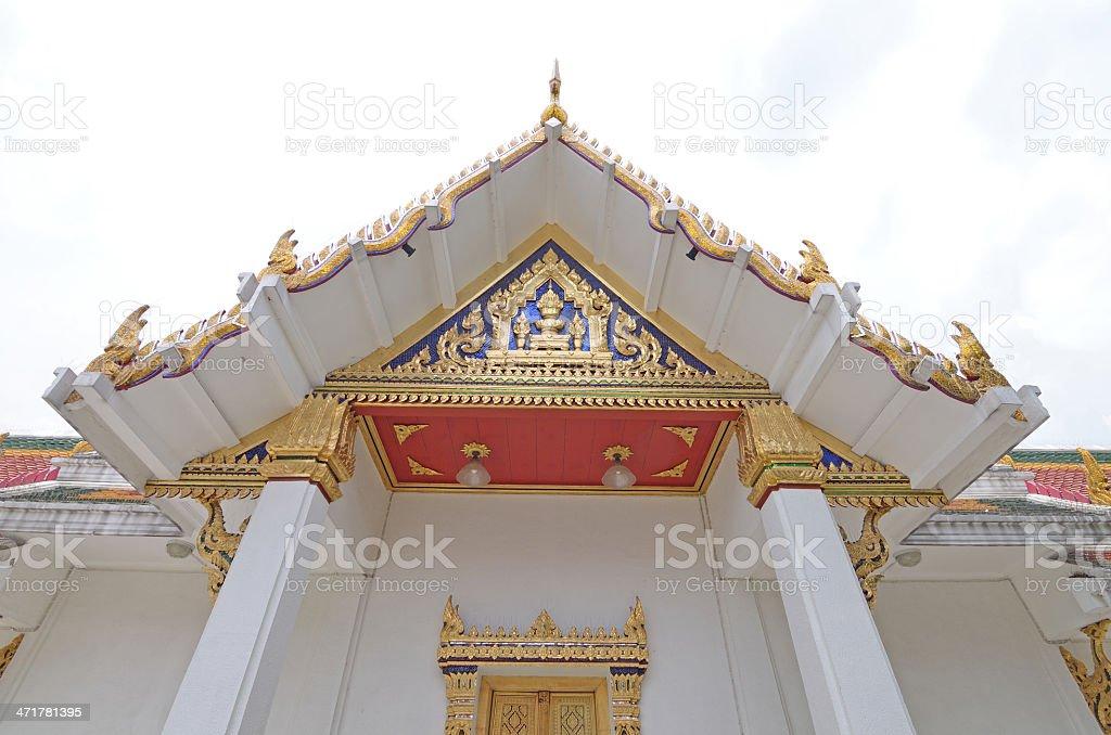 temple wat thai royalty-free stock photo