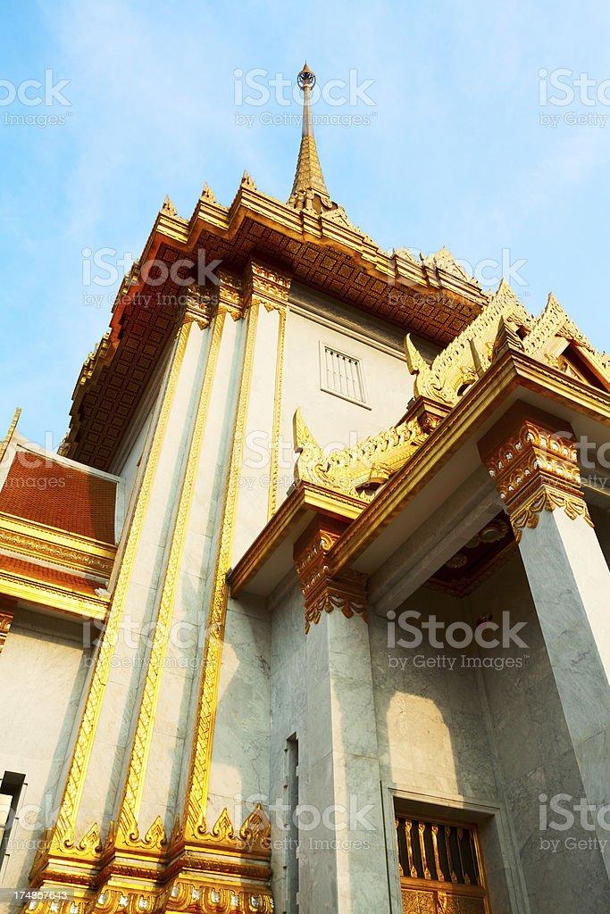 Temple Wat Traimit royalty-free stock photo