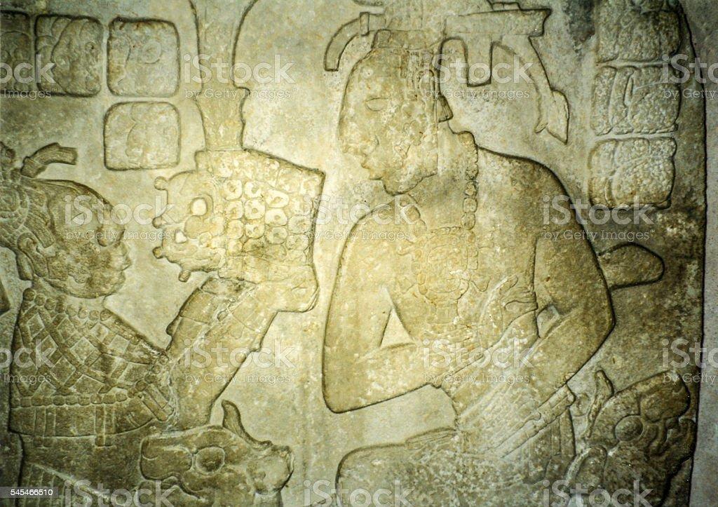 Temple XVII Tablet stock photo