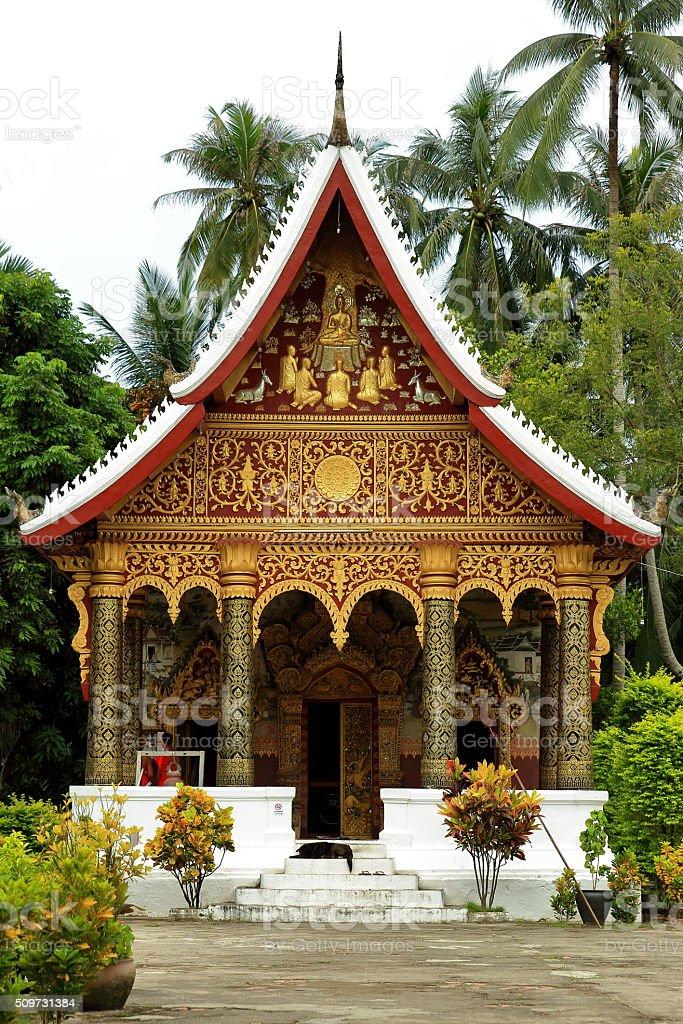 temple-luang prabang stock photo